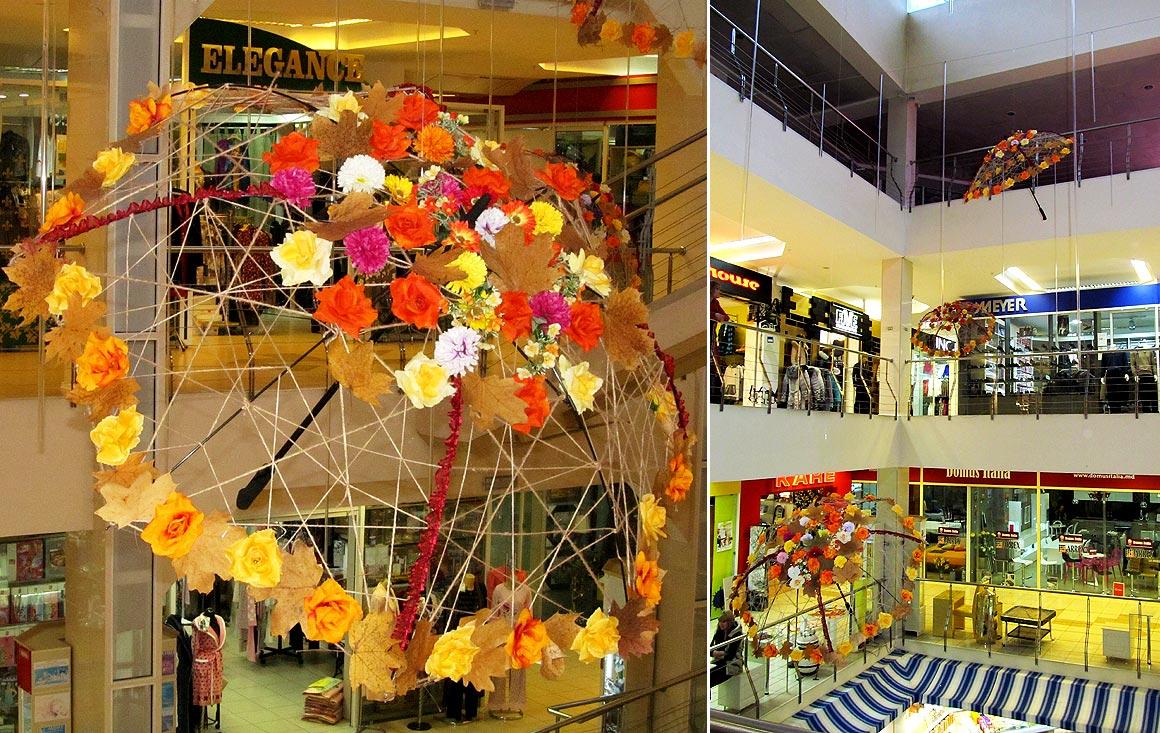 Оформление торгового центра дизайн